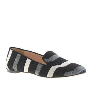 J. Crew Darby fabric loafers